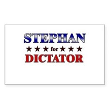 STEPHAN for dictator Rectangle Decal