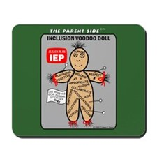 Inclusion Voodoo Doll Mousepad