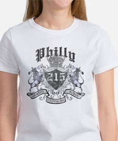 """PHILLY 215 LION CREST"" Tee"