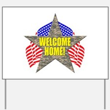 USA Troops Welcome Home Yard Sign