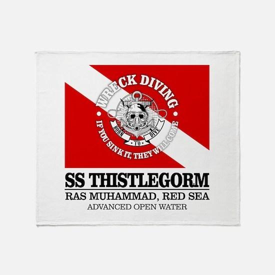 Thistlegorm Throw Blanket