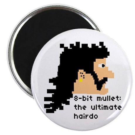 8-bit mullet: ultimate hairdo- Magnet