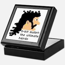 8-bit mullet: ultimate hairdo- Keepsake Box