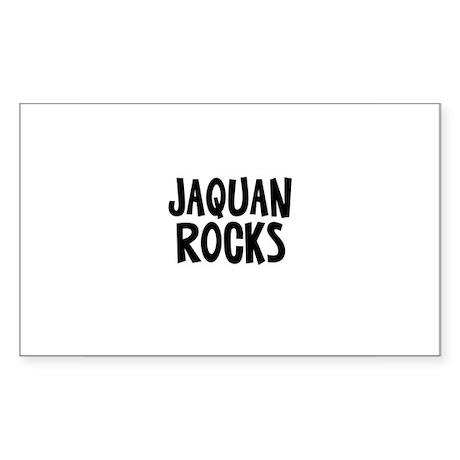 Jaquan Rocks Rectangle Sticker