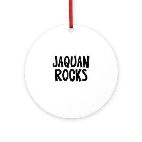 Jaquan Rocks Ornament (Round)
