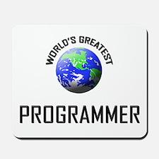 World's Greatest PROGRAMMER Mousepad
