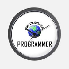World's Greatest PROGRAMMER Wall Clock