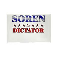 SOREN for dictator Rectangle Magnet