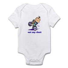 EAT MY DUST Infant Bodysuit