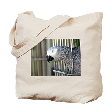Helaine's African Gray Tote Bag
