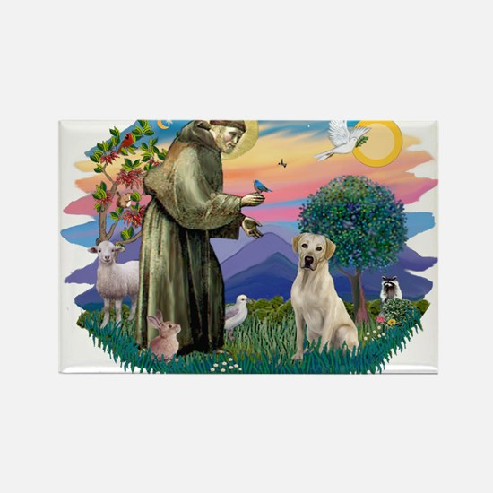 St. Francis #2 / Yellow Lab Magnets