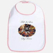Skye Terrier - Fall In Love Bib