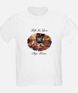 Skye Terrier - Fall In Love T-Shirt