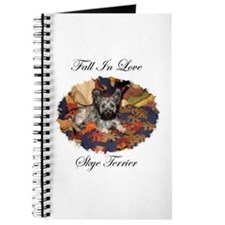 Skye Terrier - Fall In Love Journal