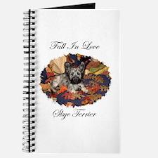 Skye Terrier - Fall In Love Journal