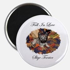 Skye Terrier - Fall In Love Magnet