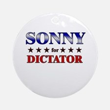 SONNY for dictator Ornament (Round)
