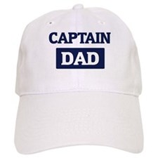 CAPTAIN Dad Baseball Cap