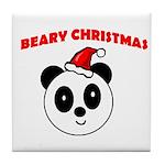 BEARY CHRISTMAS Tile Coaster