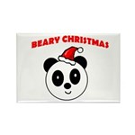 BEARY CHRISTMAS Rectangle Magnet (100 pack)