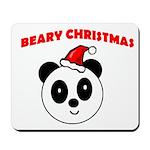 BEARY CHRISTMAS Mousepad
