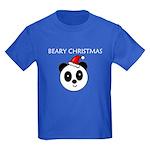 BEARY CHRISTMAS Kids Dark T-Shirt