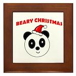 BEARY CHRISTMAS Framed Tile