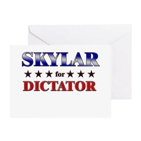 SKYLAR for dictator Greeting Card