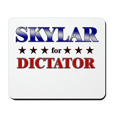 SKYLAR for dictator Mousepad