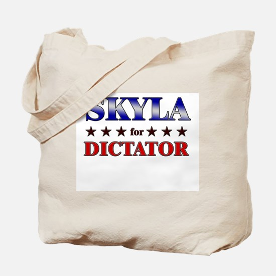 SKYLA for dictator Tote Bag