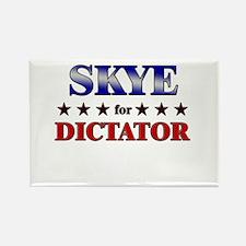 SKYE for dictator Rectangle Magnet
