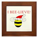 I BEE-LIEVE Framed Tile
