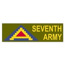 7th Army<BR> Bumper Bumper Sticker