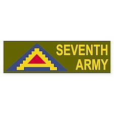 7th Army<BR> Bumper Bumper Stickers