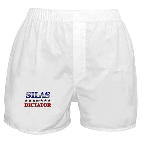 SILAS for dictator Boxer Shorts