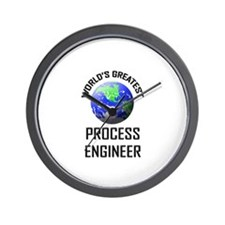 World's Greatest PROCESS ENGINEER Wall Clock