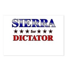 SIERRA for dictator Postcards (Package of 8)