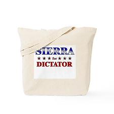 SIERRA for dictator Tote Bag