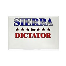 SIERRA for dictator Rectangle Magnet