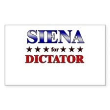 SIENA for dictator Rectangle Decal