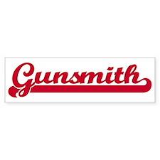 Gunsmith (sporty red) Bumper Bumper Sticker