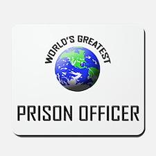 World's Greatest PRISON OFFICER Mousepad