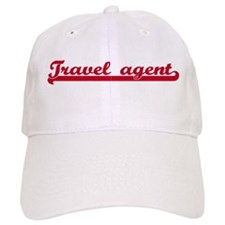 Travel agent (sporty red) Baseball Cap