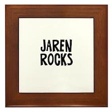 Jaren Rocks Framed Tile