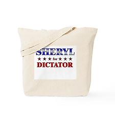 SHERYL for dictator Tote Bag