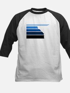 Break lines blu/wht Baseball Jersey
