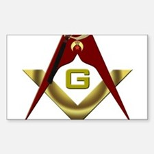 The Fez on the S&C Rectangle Decal