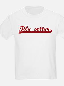 Tile setter (sporty red) T-Shirt