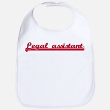 Legal assistant (sporty red) Bib