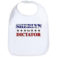SHERLYN for dictator Bib